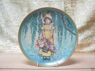 Knowles China Jessie Willcox Smith 1986 Easter Plate