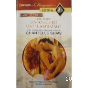 com Untouched Until Marriage (Wedlocked, #142) Chantelle Shaw Books