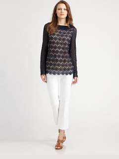 Tory Burch   Janeen Lace Top