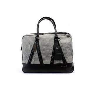 Guess Old Town LapTop Case Mens Grey Messenger Bag