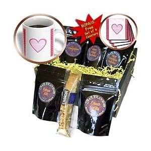 Pink Heart For Best Friend   Coffee Gift Baskets   Coffee Gift Basket