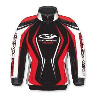 COLDWAVE SNO ICE WOMENS SNOWMOBILE JACKET RED MD: Automotive