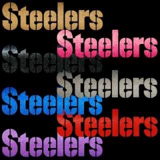 Pittsburgh Steelers Logo Auto Car Window Sticker Decals