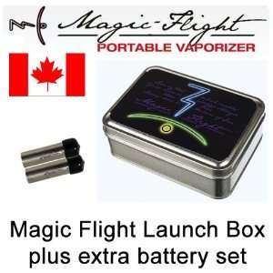 Magic Flight Launch Box plus Extra Set of Batteries and