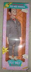 Pee Wee Playhouse Ventriloquist Doll Matchbox NIB 1989
