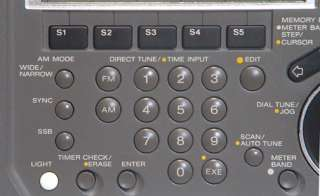 Sony ICF SW77 Radio