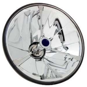 Adjure T70704 A 7 Pie Cut Trillient Black Dot Tri Bar Headlamp with