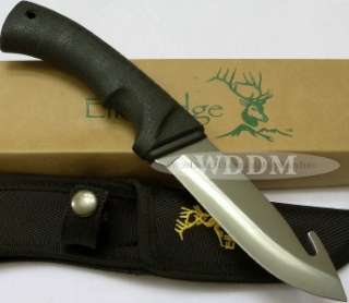 New In Box. Elk Ridge Rubber Handle Guthook Hunting/Skinning Knife