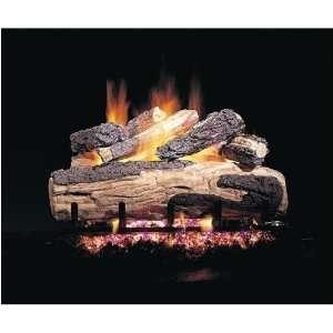 Gas Logs 18 Inch Ripped Split Oak Designer Plus Vented Propane Gas