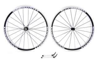 ALUMINUM 700c BIKE WHEELSET BICYCLE WHEEL CYCLECROSS TRIATHLON ROAD