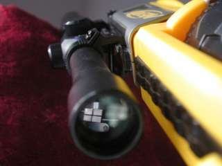 METAL SNIPER SCOPE FITS NERF MAVERICK GUNS ADJUSTABLE SIGHTS